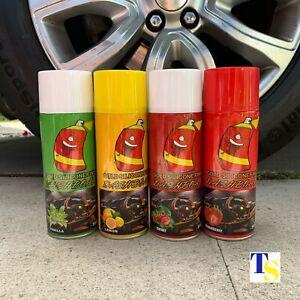 Silicone Spray - MIXED FRUITS 500ml (silicone dressing for car dash trims) TRADE