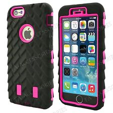 Heavy Duty Tyre Armour Shock Proof Builder Case Cover For iPhone 7, 6s, 6, SE 5S
