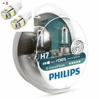 Philips X-Treme Vision H7 130%+ Twin - 2 free LED T10/W5W