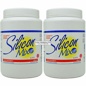 """Silicon MIX Intensive Hair Deep Treatment 60 Oz """"Pack of 2"""""""