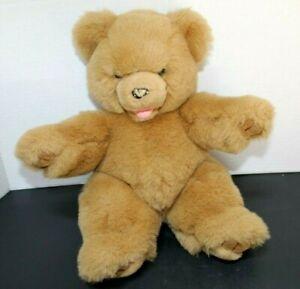 "Vintage Westcliff Collection Plush Teddy Bear 14"" Brown Stuffed Animal Toy Soft"