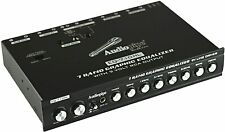 New Audiopipe 7 Band Graphic Equalizer with Hi/Lo - 9V Line Driver EQ-710HL