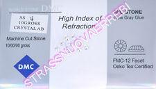 1440 STRASS  TERMOADESIVI  DMC 4  MILLIMETRI  (SS 16)  CRYSTAL AURORA BOREALE