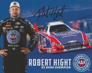 2019 Robert Hight signed AAA Chevy Camaro Funny Car NHRA Hero Card