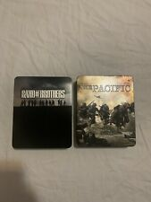 Band Of Brother/ The Pacific Blu Ray Tin Cases