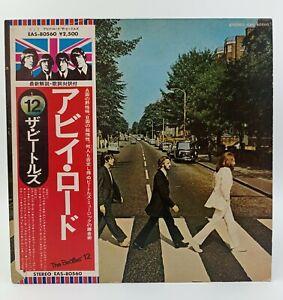 LP Record VINILO -The Beatles – Abbey Road EAS-80560 Apple Records con OBI JAPÓN