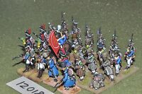 25mm napoleonic / french - infantry 27 figs - inf (12018)