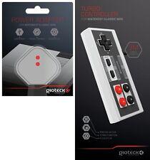 Mini Clásico De Nintendo Nes Gioteck Turbo Control Pad Controlador 3M Adaptador de corriente