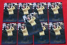 2001 UPPER DECK GOLF LEGENDS JACK NICKLAUS #53 9 CARD LOT