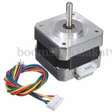28N.cm 12V 0.4A NEMA 17 Stepper Motors For Arduino CNC Reprap 3D Printer Robot