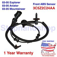 NEW ABS WHEEL SPEED SENSOR BRAKES for 2003 2005 FORD LINCOLN FRONT RIGHT LEFT