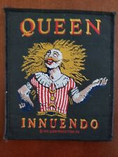 Queen 'Innuendo' Official Sew On Patch, '1993 Queen Productions, Ltd.'