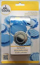 EK Tools Layering Paper Punch Scallop Circle 54-90015 5490015 484698 NEW