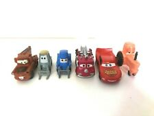 Lot of 6 Disney Pixar Cars Mini Cake Toppers  Very Cute!