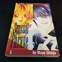 Sensual Phrase - Mayu Shinjo #1 Manga Paperback, English