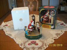 Coca-Cola Santa Mechanical Fireplace Christmas Bank Coke 1995 3rd in Series
