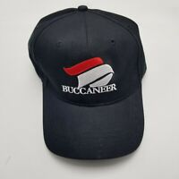 Buccaneer 10th Anniversary Hat Cap Black Adult Used Strapback Advertising Bl5