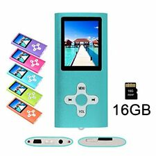 RHDTShop MP3 MP4 Player with a 16 GB Micro SD card Support UP to 32GB TF Card...