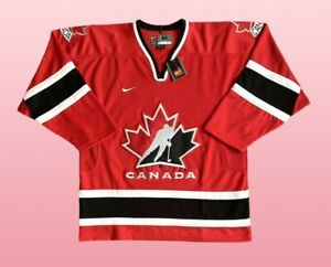Vintage Nike Early 2000s Canada Ice Hockey Jersey M Rare BNWT Deadstock NHL
