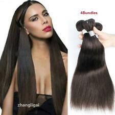 "20"" 22"" 24"" 26"" Dark Brown #2 Straight Human Hair 200G/4Bundles Human Hair Weave"