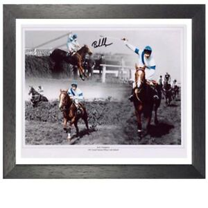 Bob Champion Framed Signed Photo - 1981 Grand National