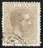 Spain xCUBAx. Sc #105 .Edifil.104  USED