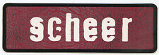 SCHEER 4AD 1996 promo STICKER decal Infliction -- 2 inch x 6 inch