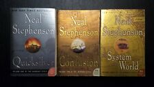 10 Neal Stephenson PB Lot - Snow Crash, Seveneves, Cryptonomicon, Baroque Cycle