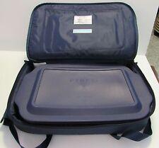 PYREX PORTABLES 5 PC 3 QT BAKEWARE SET GLASS DISH LID CARRY CASE COLD HOT PACKS
