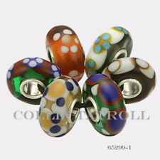 Authentic Trollbeads Sterling Silver  Malawi Kit - 6 Beads 65299 *I*