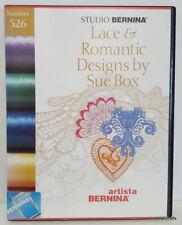 Studio Bernina Embroidery Design Card 526 Lace & Romantic Designs by Sue Box