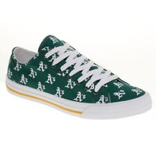 Oakland A's Athletics MLB Row One Apparel Men Women Kids Low Top Sneakers Shoes