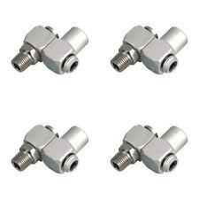 "FOUR (4) Swivel Connectors Air Tool Hose 1/4"" NPT"