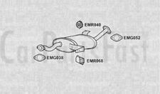 Exhaust Middle Box Nissan Terrano II 2.4 Petrol ATV/SUV 07/1993 to 10/1996