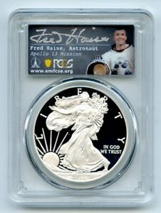 2010 W $1 Proof American Silver Eagle PCGS PR70DCAM Fred Haise