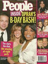 People Magazine - February 16, 2004 - Oprah Winfrey Jennifer Lopez Janet Jackson
