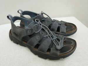 KEEN DAYTONA 12 46 Leather Open Toe Drawstring Water Sport Trail Sandals Shoes