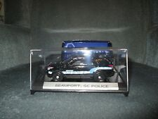 Custom made Motormax 1/43 scale Beaufort, SC Police 2015 Ford Explorer