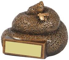 Dog Poop, Poo Trophy, Award, Loser, Last Place 70mm, (RS816) twt
