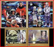 MICRONESIA 1998 JOHN GLENN /USA in SPACE x2 M/S + 2 s/S mnh CV$27.00 offer CHUK?