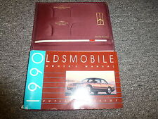 1990 Oldsmobile Cutlass Supreme Owner Manual Coupe Convertible International SL