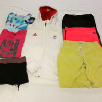 Women's XS Active Wear Clothes Mixed 7 Lot Lululemon Nike Adidas Running Yoga
