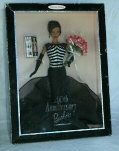Barbie 40th Anniversary AA 1999 New Mattel Collector Edition