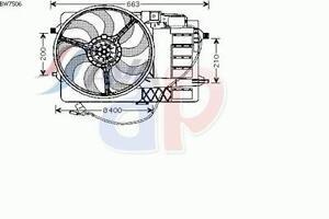 ELETTROVENTOLA RADIATORE COMPLETA PER MINI MINI R50 R53 Cooper S 163 CV