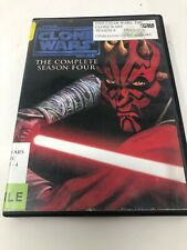 Star Wars: The Clone Wars: Season 4 **DISK 3 And 4 Only** Former Library B3