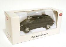 Audi 80 B4 Typ 8c Avant in schwarz negro noir nero black, Schabak 1:43 boxed!
