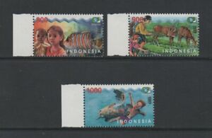 INDONESIA 2001 WORLD ENVIRONMENT DAY *VF MNH*