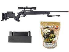 Well AWN APS2 Airsoft Rifle 4000 .25g High Grade BBs 2 Magazines