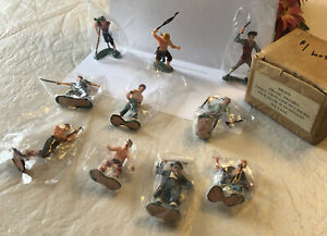 MARX WARRIORS OF THE WORLD HK-7032 PIRATE FIGURES 10 of the set of 12 in Box vtg