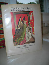 The Christmas Story Told by St. Luke & St. Matthew 1950 1st Edition Color Plates